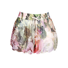Buy Ted Baker Scole Peony Shorts, Light Pink Online at johnlewis.com