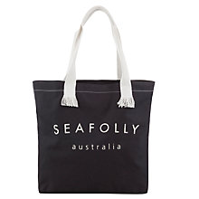 Buy Seafolly Flea Market Tote Bag, Indigo Online at johnlewis.com