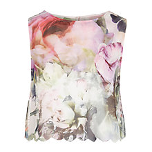 Buy Ted Baker Scalpp Peony Top, Light Pink Online at johnlewis.com