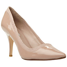 Buy Dune Alivio Pointed Toe Patent Court Shoes, Blush Online at johnlewis.com