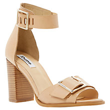 Buy Dune Jessy Block Heel Leather Sandals Online at johnlewis.com