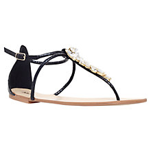 Buy Miss KG Delight Jewel Sandals, Black Online at johnlewis.com