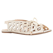 Buy Miss KG Marley Cut Out Sandals, Gold Online at johnlewis.com