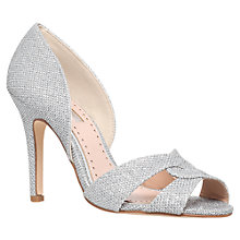 Buy Miss KG Gretal High Heel Sandals, Silver Online at johnlewis.com