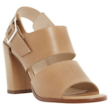 Buy Dune Jamey Block Heel Leather Sandals Online at johnlewis.com