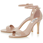 Dune Hydro Patent Sandals, Blush