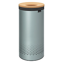 Buy Brabantia Cork Lid Laundry Bin Online at johnlewis.com