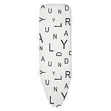 Buy John Lewis Brooklyn Letters Ironing Board Cover Online at johnlewis.com