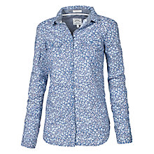 Buy Fat Face Misty Meadow Shirt, Blue Online at johnlewis.com