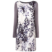 Buy Phase Eight Mia Printed Tunic, Grey/Purple Online at johnlewis.com