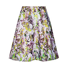 Buy Ted Baker Window Blossom Skirt, Light Purple Online at johnlewis.com