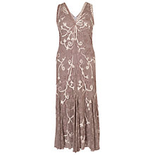 Buy Chesca Ombre Cornelli Dress, Mink Online at johnlewis.com