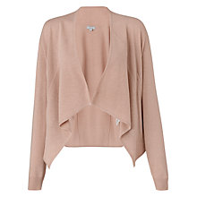 Buy Jigsaw Seam Detail Cardigan, Nude Online at johnlewis.com