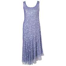 Buy Chesca Matt Vermicelli Dress, Lilac Online at johnlewis.com