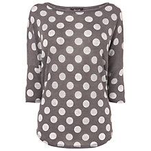Buy Phase Eight Catrina Top, Mushroom Marl Online at johnlewis.com