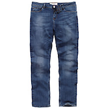 Buy Fat Face Contour Slim Jeans, Opal Blue Online at johnlewis.com