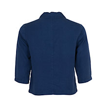 Buy French Connection Cropped Shirt, Prussian Blue Online at johnlewis.com