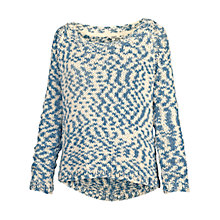 Buy Fat Face Chunky Corded Jumper Online at johnlewis.com