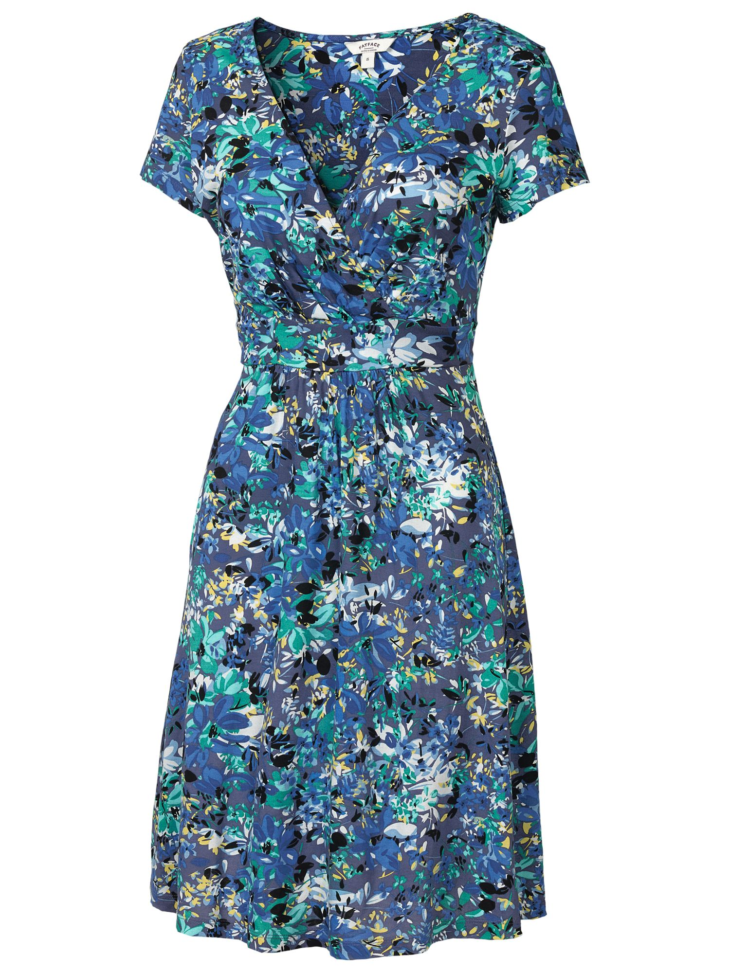 fat face camille abstract floral dress dark chambray, fat, face, camille, abstract, floral, dress, dark, chambray, fat face, 8|14|10, women, brands a-k, inactive womenswear, womens dresses, special offers, womenswear offers, womens dresses offers, 1845281