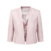 Buy Jacques Vert Petite Edge to Edge Jacket, Champagne Online at johnlewis.com