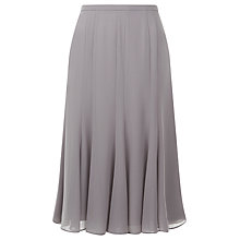 Buy Jacques Vert Petite Chiffon Skirt, Light Brown Online at johnlewis.com