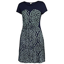 Buy Fat Face Banbury Butterfly Dress, Navy Online at johnlewis.com
