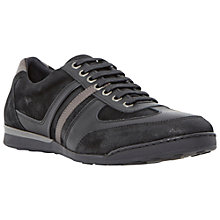 Buy Dune Trundley Leather Trainers Online at johnlewis.com