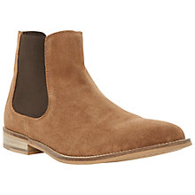 Buy Dune Chevvy Perforated Suede Chelsea Boots Online at johnlewis.com