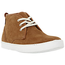 Buy Dune Spiral Suede Hi-Top Trainers Online at johnlewis.com