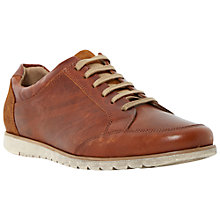 Buy Dune Torpedo Leather Trainers Online at johnlewis.com