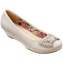 Buy Hotter Pollyanna Low Heeled Leather Pumps Online at johnlewis.com