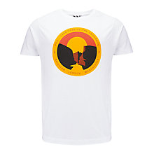 Buy Pear Shaped Apparel The Edge Graphic Print T-Shirt Online at johnlewis.com
