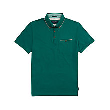 Buy Ted Baker Lotuz Knitted Collar Polo Shirt Online at johnlewis.com