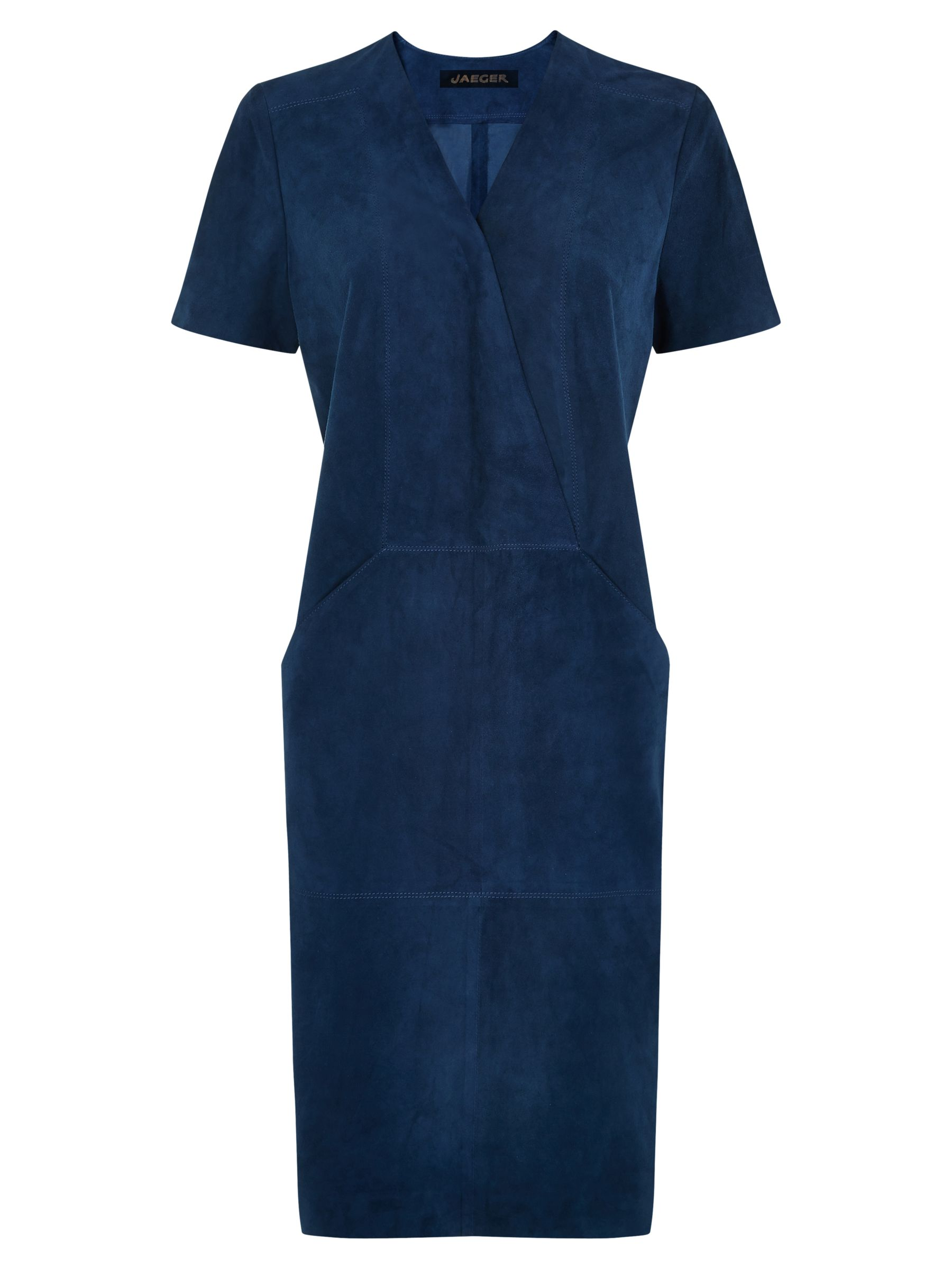 jaeger suede dress blue wing, jaeger, suede, dress, blue, wing, 10 6 8 14 12, fashion magazine, denim luxe, women, womens dresses, inactive womenswear, outfit ideas, 1851259