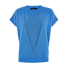 Buy Jaeger Double Layer Wool Top, Regatta Online at johnlewis.com