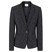 Buy Reiss Kallisti Polka Dot Blazer, Night Navy Online at johnlewis.com