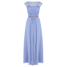 Buy Coast Lori Lee Lace Maxi Dress, Cornflower Online at johnlewis.com