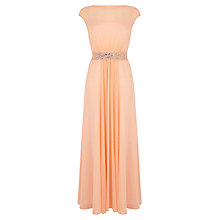 Buy Coast Lori Lee Maxi Dress, Peach Online at johnlewis.com