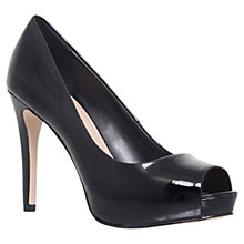 Buy Carvela Lara Peep Toe Patent Court Shoes Online at johnlewis.com