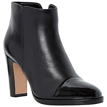 Buy Dune Olly Leather Ankle Boots Online at johnlewis.com