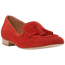 Buy Dune Luda Suede Tassel Loafers Online at johnlewis.com