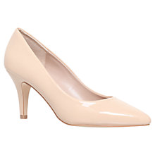 Buy Carvela Kairo Patent Court Shoes, Nude Online at johnlewis.com
