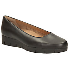 Buy Clarks Daelyn Towne Leather Pumps, Black Online at johnlewis.com