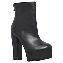 Buy Miss KG High Heel Ankle Boots, Black Online at johnlewis.com