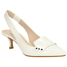 Buy Clarks Aquifer Sorbet Pointed Slingback Court Shoes Online at johnlewis.com
