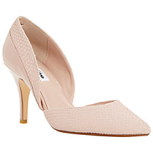 Buy Dune Cheree Pointed Toe Reptile Court Shoes Online at johnlewis.com
