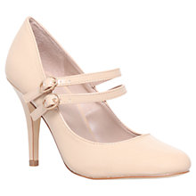 Buy Carvela Kelly Patent Court Shoes, Nude Online at johnlewis.com