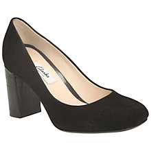 Buy Clarks Gabriel Mist Block Heel Court Shoes Online at johnlewis.com