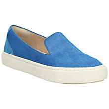Buy Clarks Coll Island Leather Slip On Trainers Online at johnlewis.com