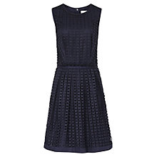 Buy Reiss Aisha Lace Overlay Dress, Night Navy Online at johnlewis.com